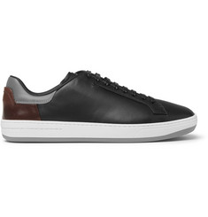 Berluti Panelled Leather Sneakers