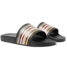 Paul Smith - Ruben Striped Rubber Slides
