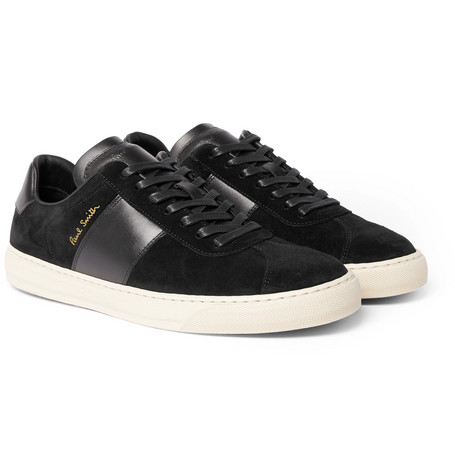 Levon Leather And Suede Sneakers Paul Smith So350