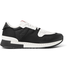 Givenchy Active Panelled Mesh, Leather and Suede Sneakers