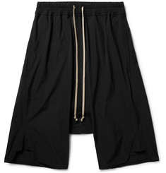 Rick Owens Basket Stretch-Shell Shorts