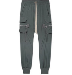 Rick Owens - Slim-Fit Tapered Stretch-Nylon Cargo Trousers