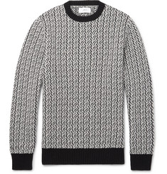 Mr P. Textured Merino Wool Sweater