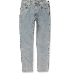 Gucci - Printed Washed-Denim Jeans