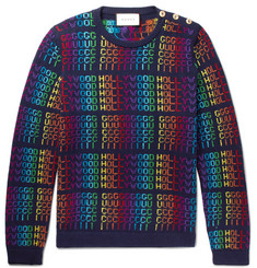 Gucci Jacquard Wool Sweater