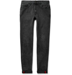 Gucci - Slim-Fit Washed-Denim Jeans