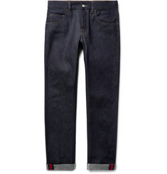 Gucci - Slim-Fit Stretch-Denim Jeans