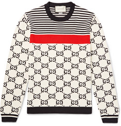 Gucci Cotton-Jacquard Sweater
