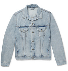 Gucci - Appliquéd Distressed Denim Jacket