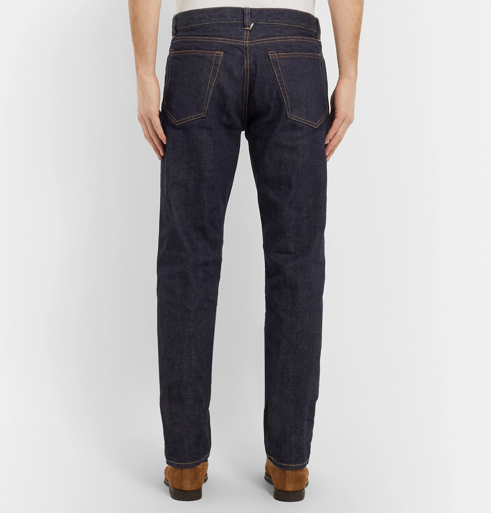 Mr P. Slim-Fit Selvedge Denim Jeans
