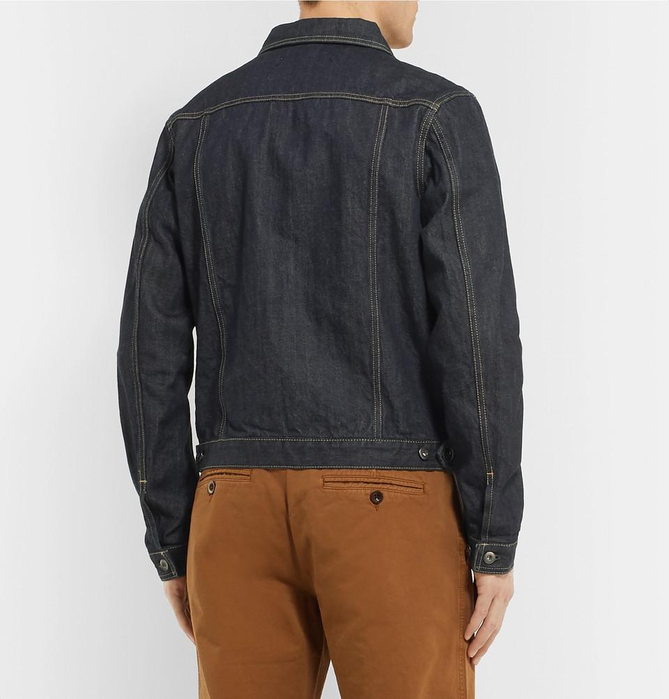 Mr P. Selvedge Denim Jacket