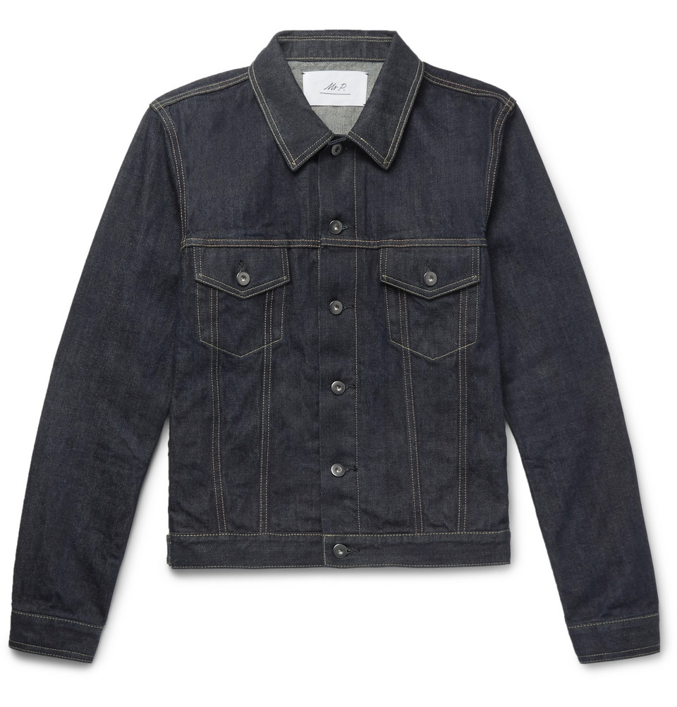 Mr P. Selvedge Denim Jacket