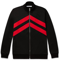 Givenchy Slim-Fit Striped Jersey Track Top