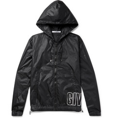 Givenchy Printed Shell Hooded Jacket