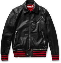 Givenchy - Leather Bomber Jacket