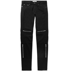 Givenchy Rico Slim-Fit Stretch-Denim Biker Jeans
