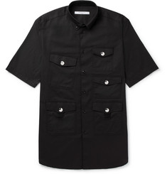 Givenchy - Columbian-Fit Button-Down Cotton-Drill Shirt
