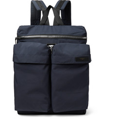 Givenchy - Grosgrain-Trimmed Shell Backpack