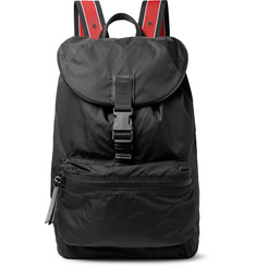 Givenchy - Obsedia Leather-Trimmed Nylon Backpack