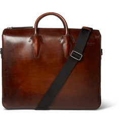Berluti - Polished-Leather Briefcase