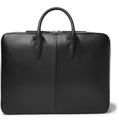 Berluti Spy Convertible Leather Briefcase and Backpack