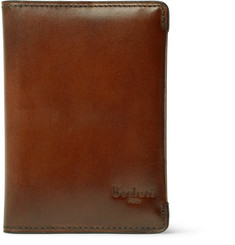 Berluti Ideal Polished-Leather Wallet