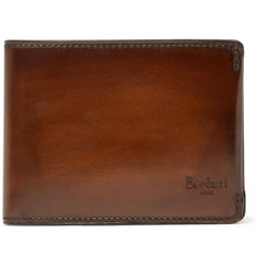 Berluti - Polished-Leather Billfold Wallet