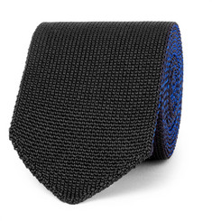 Berluti 6cm Reversible Knitted Silk Tie