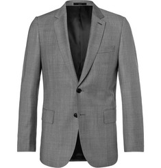 Paul Smith Grey Soho Wool-Sharkskin Suit Jacket