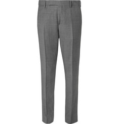 Paul Smith Grey Soho Wool-Sharkskin Suit Trousers