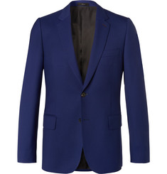 Paul Smith Blue Soho Travel Slim-Fit Wool-Twill Suit Jacket