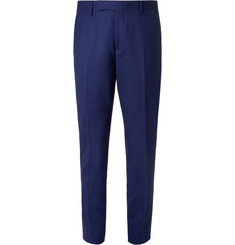 Paul Smith Blue Soho Travel Slim-Fit Wool-Twill Suit Trousers