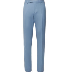 Paul Smith Light-Blue Soho Travel Slim-Fit Wool-Twill Suit Trousers