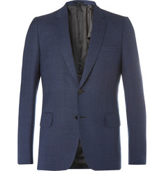 Paul Smith Navy Soho Wool-Hopsack Blazer