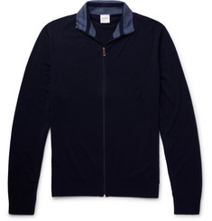Paul Smith Slim-Fit Merino Wool Zip-Up Sweater