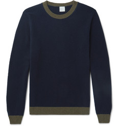 Paul Smith Contrast-Trimmed Wool Sweater