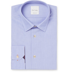 Paul Smith - Blue Soho Slim-Fit End-on-End Cotton Shirt