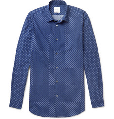 Paul Smith Soho Slim-Fit Cutaway-Collar Polka-Dot Cotton Shirt