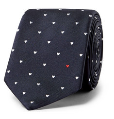 Paul Smith 6cm Embroidered Silk-Faille Tie