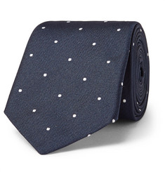 Paul Smith 6.5cm Polka-Dot Silk-Jacquard Tie