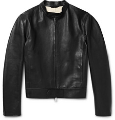 Berluti Leather Biker Jacket