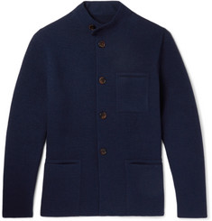 Berluti Cashmere and Wool-Blend Felt Cardigan