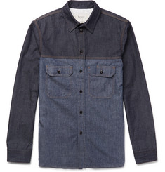 Berluti Two-Tone Denim Shirt