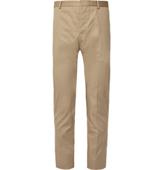 Berluti Beige Slim-Fit Stretch-Cotton Gabardine Suit Trousers