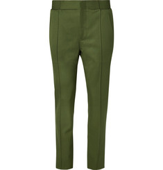 Berluti Slim-Fit Tapered Wool-Gabardine Trousers