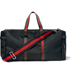 Gucci - Webbing-Trimmed Coated-Canvas Holdall