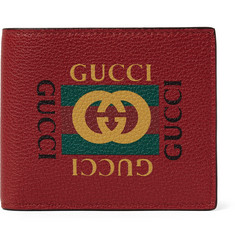 Gucci - Printed Full-Grain Leather Billfold Wallet