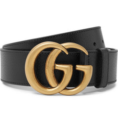 Gucci - 4cm Black Full-Grain Leather Belt