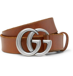 Gucci 3cm Tan Leather Belt