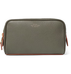 aaadd0f45e Smythson Burlington Full-Grain Leather Wash Bag